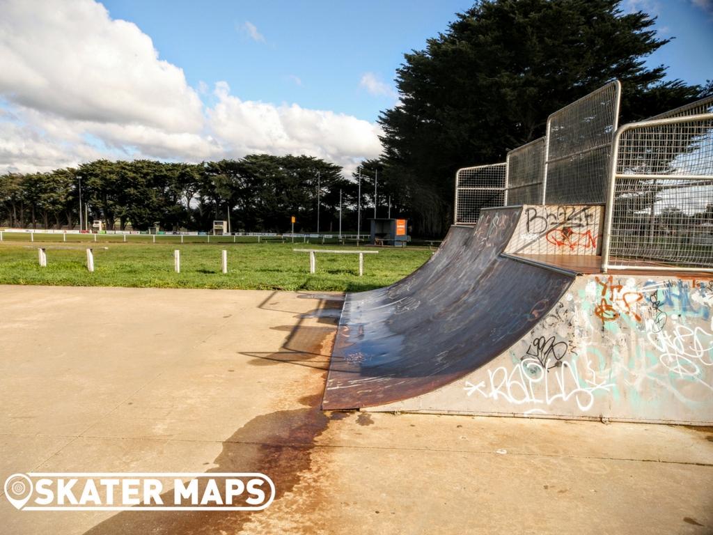 Ballan Skatepark Skateboarding Victoria Australia