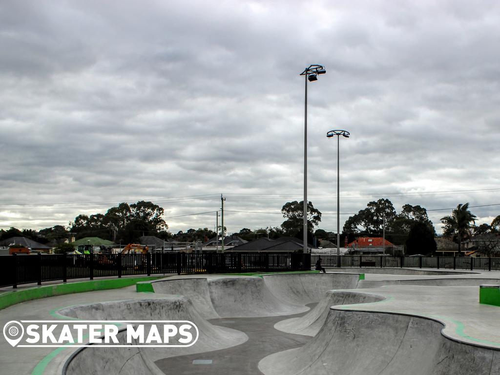Noble Park Skatepark, Noble Park Vic Australia Skate Parks