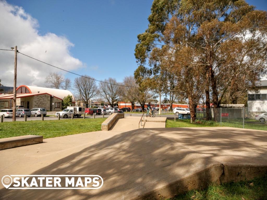Woodend Skatepark Victoria