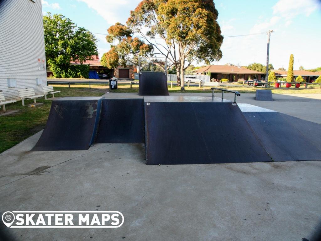 Stawell Skatepark Victoria