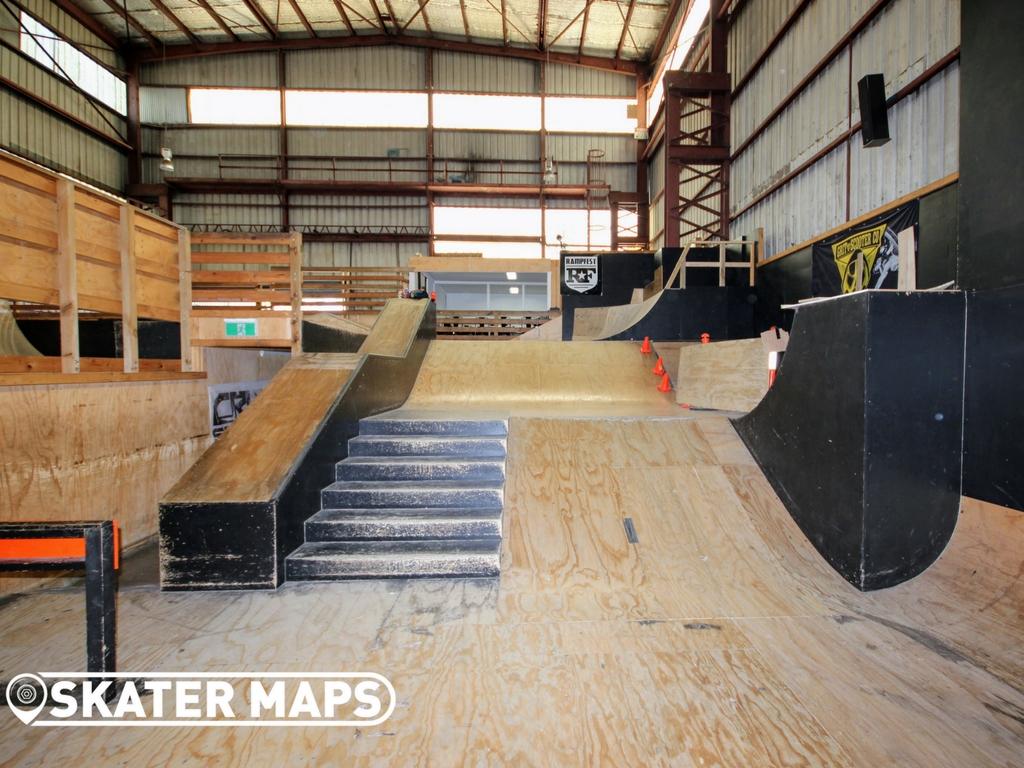 Rampfest Indoor Skatepark Melbourne Undercover Private Skate Parks Aus