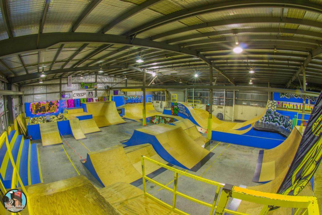 Bunker Indoor Skatepark   Skateparks Near Me