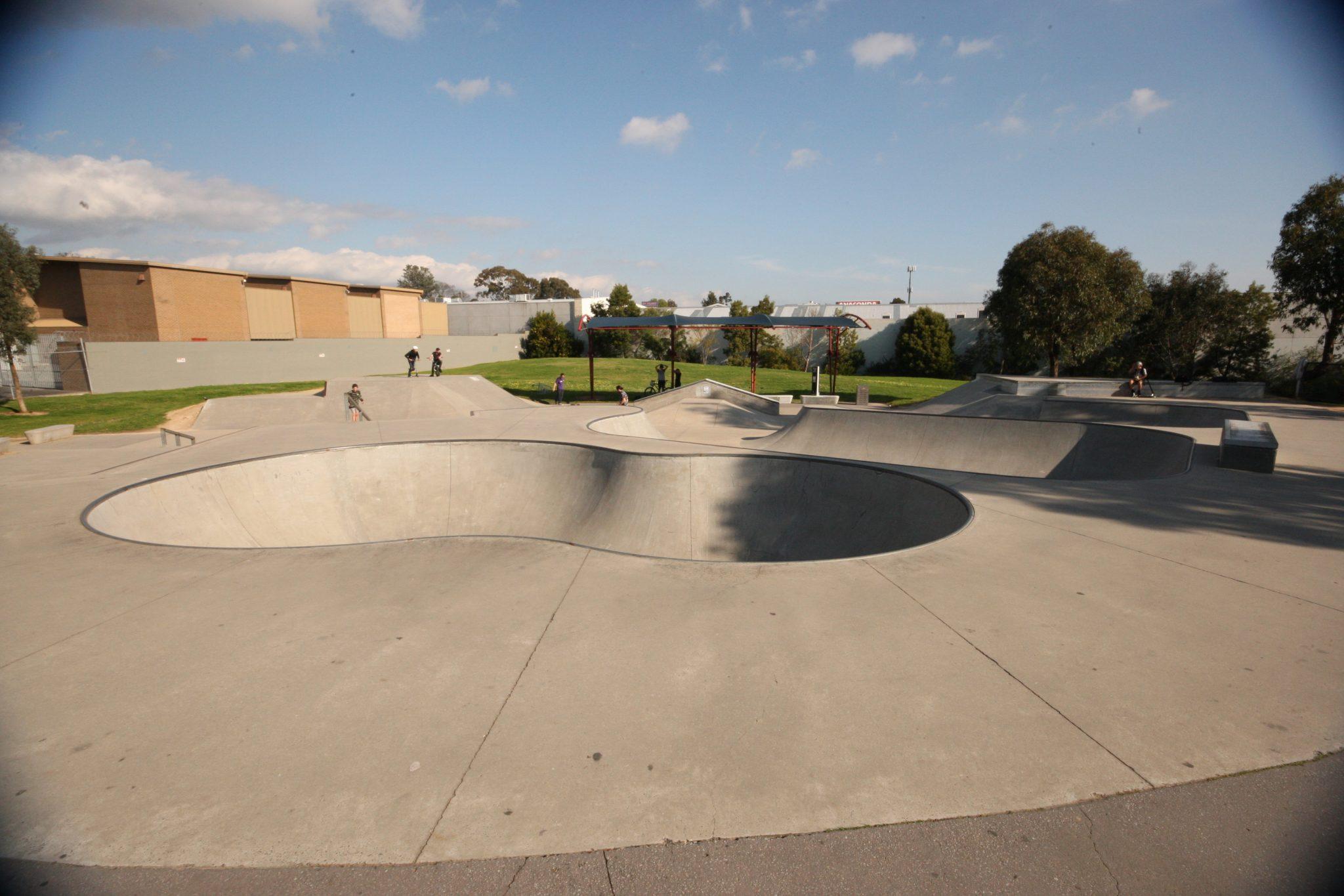 Box Hill Skatepark Melbourne Vic