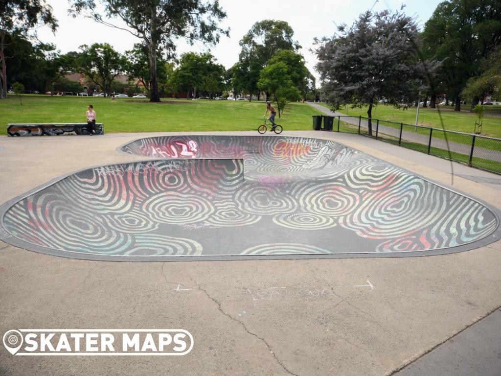 Fitzroy Skate Bowl Melbourne Vic