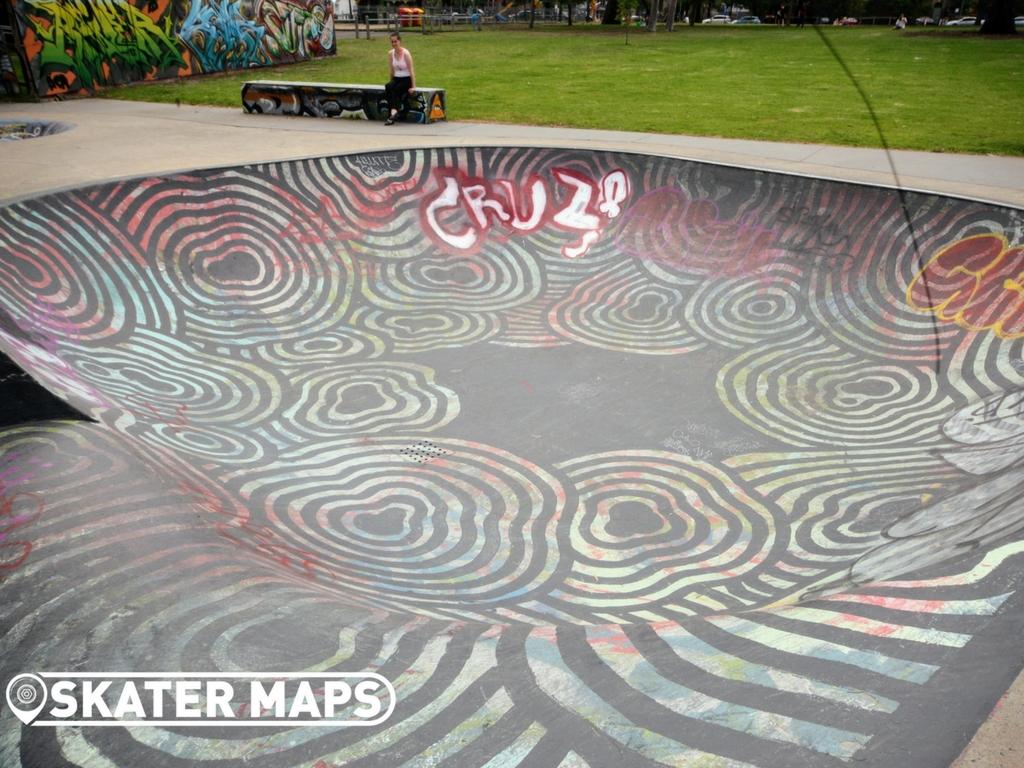 Fitzroy Skate Bowl, Fitzroy Melbourne Vic Aus Skate Bowls Skate Bowls Melbourne