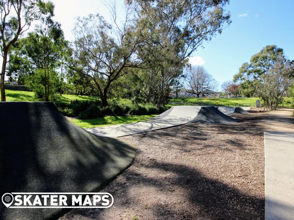 Hill 'n' Dale Skatepark, Glen Iris Pump Track