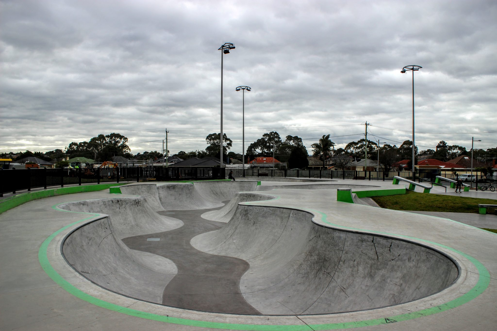 Noble Park Skatepark Melbourne Victoria
