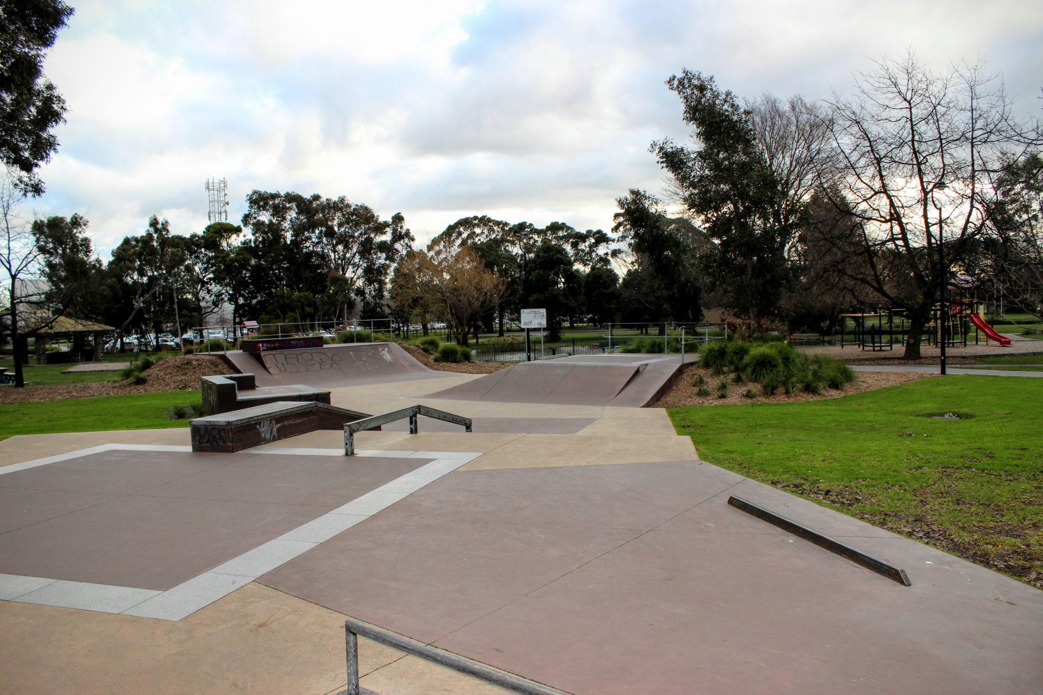 Buchanan Park Skatepark Melbourne Vic