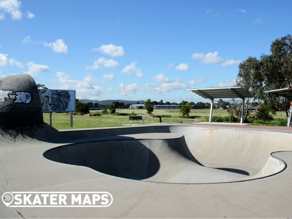 Knox Skate and BMX park, Ferntree Gully Road, Knoxville, Victoria