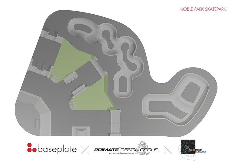 Noble Park Skatepark Design Concept