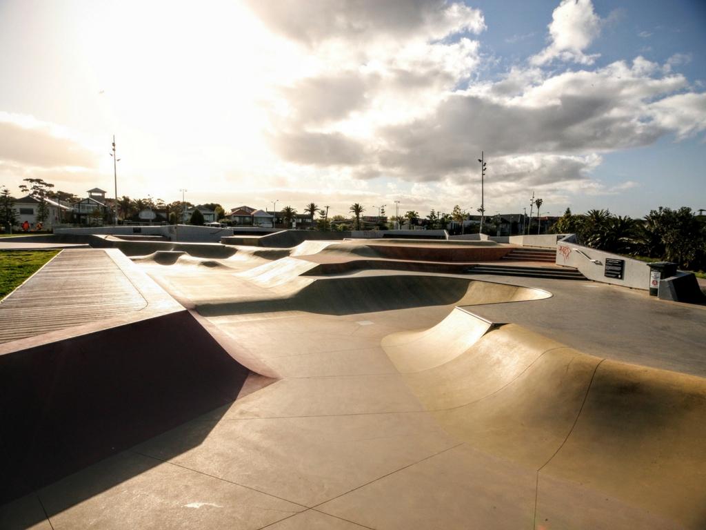 St Kilda Skatepark Melbourne Victoria