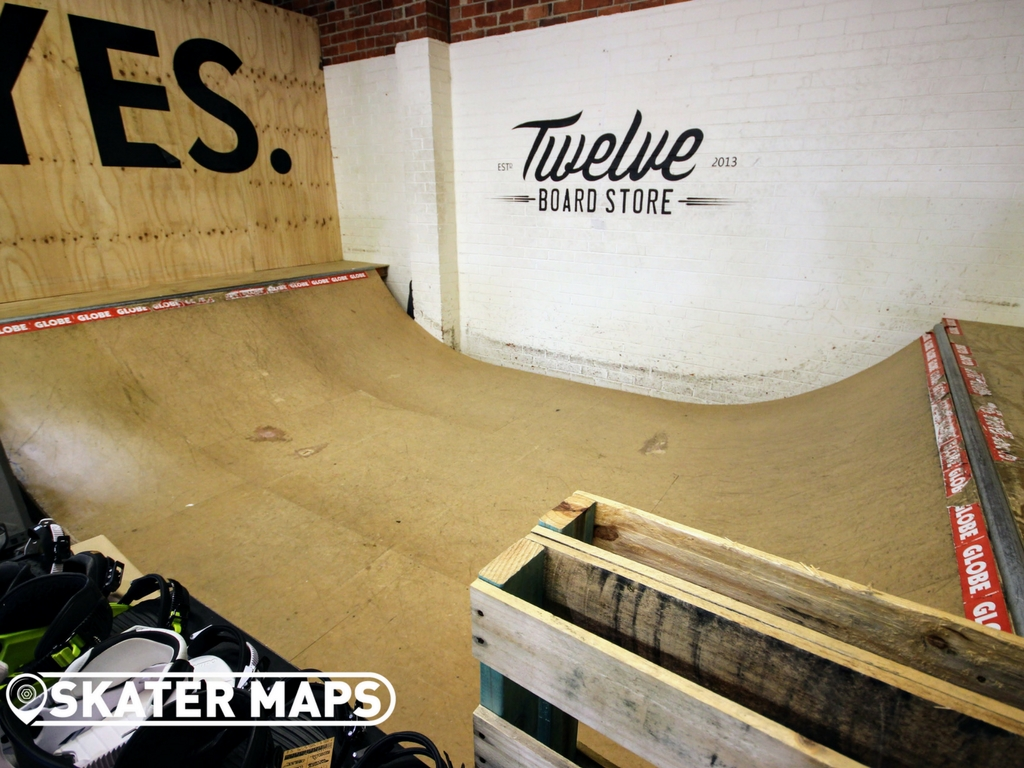 Twelve Boardstore mini ramp Richmond, Melbourne. 1