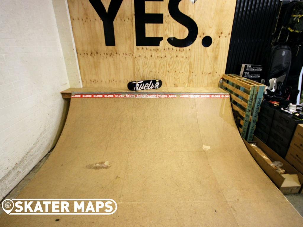 Twelve Boardstore mini ramp Richmond, Melbourne Indoor Skateparks