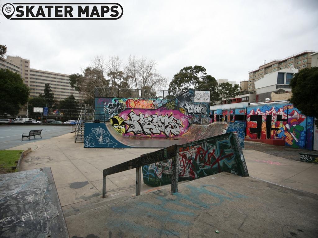 Prahran Skatepark Melbourne Victoria