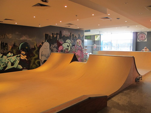 Simply Skateboarding Indoor Skatepark Halfpipe Melbourne Vic