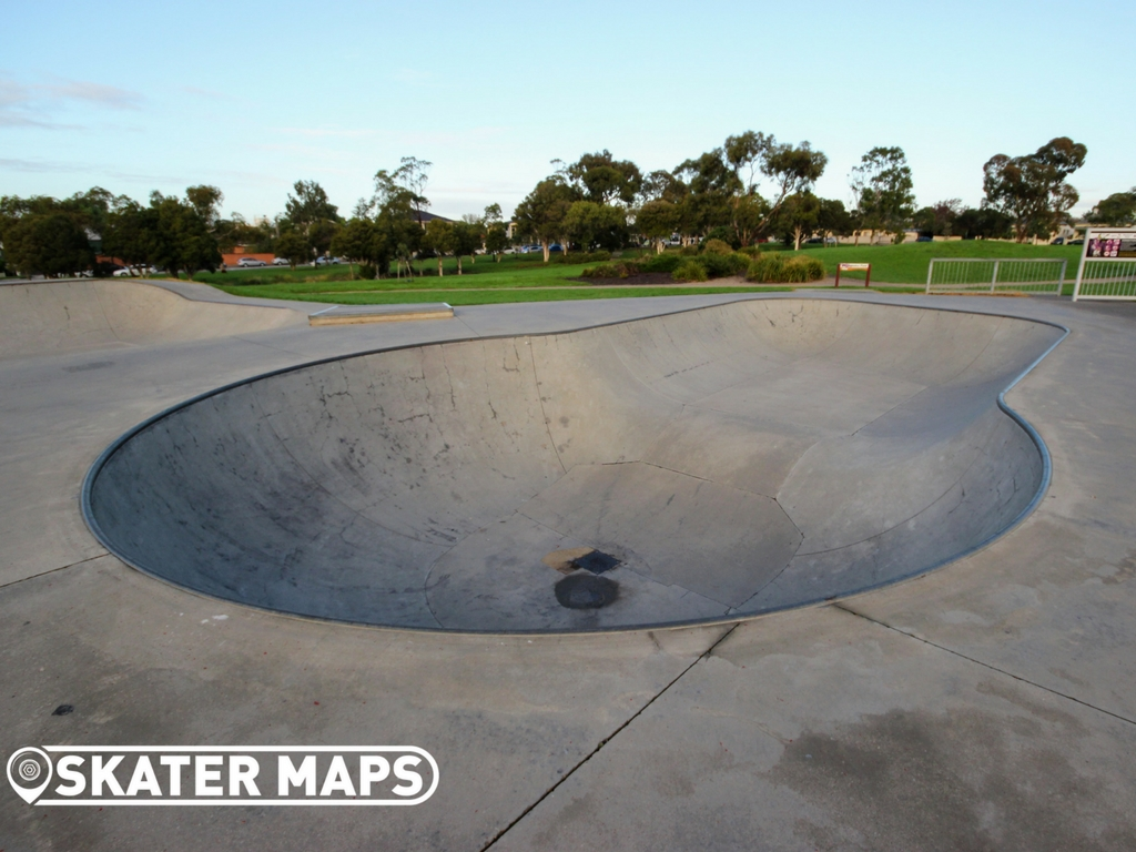 Newport Skatepark, Melbourne Victoria. Skateboard and BMX Park