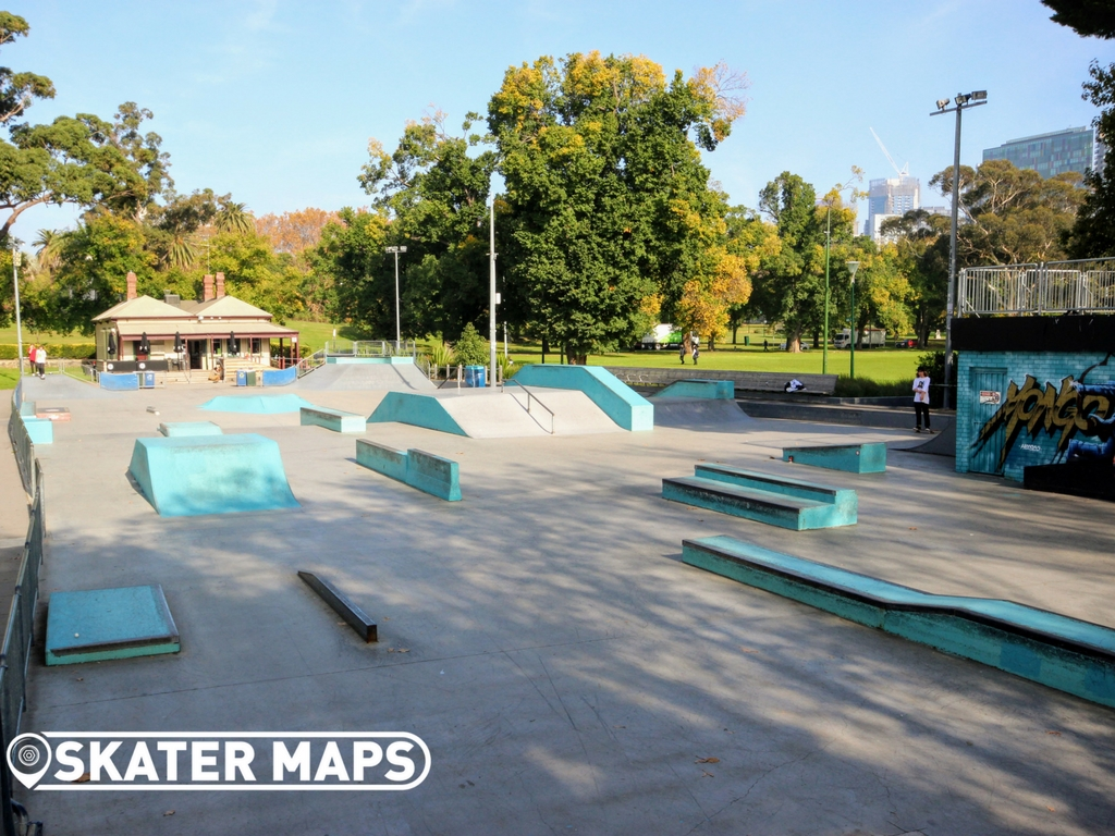Riverslide Skatepark Melbourne Vic