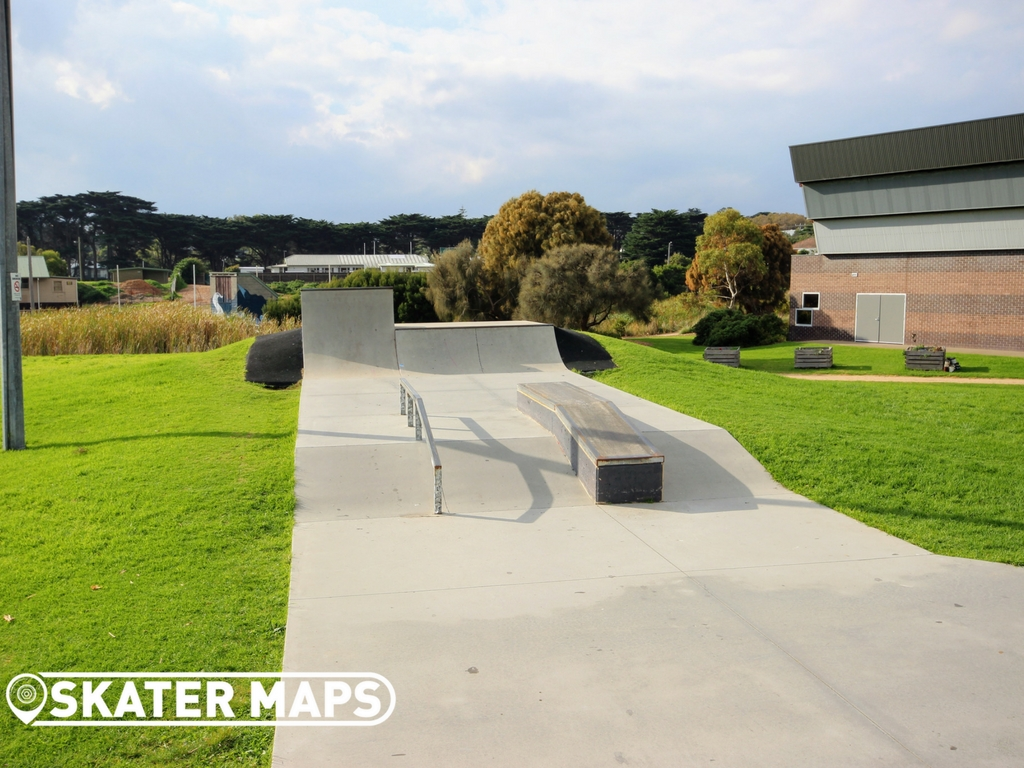 Sorrento Skatepark, Sorrento Mornington Peninsula Victoria Skateparks for BMX, scooters & skateboarders