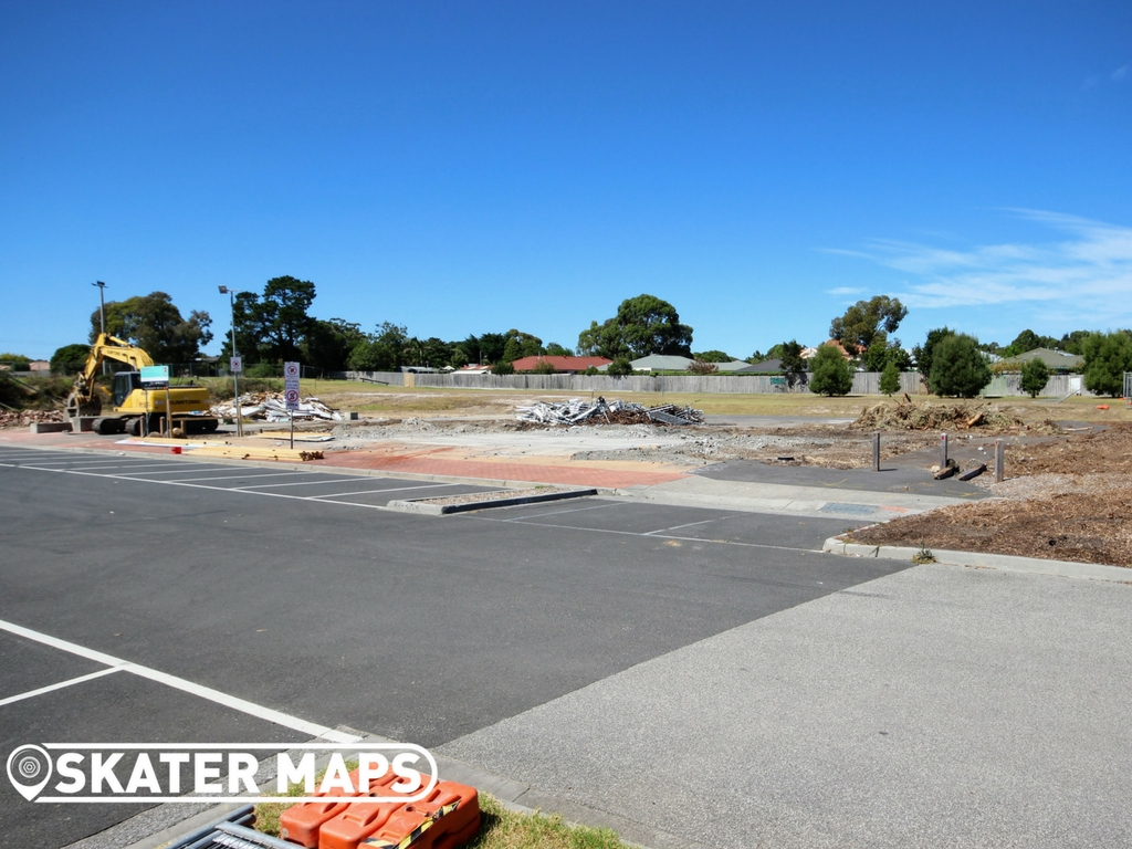 Sommerville Skatepark under Construction