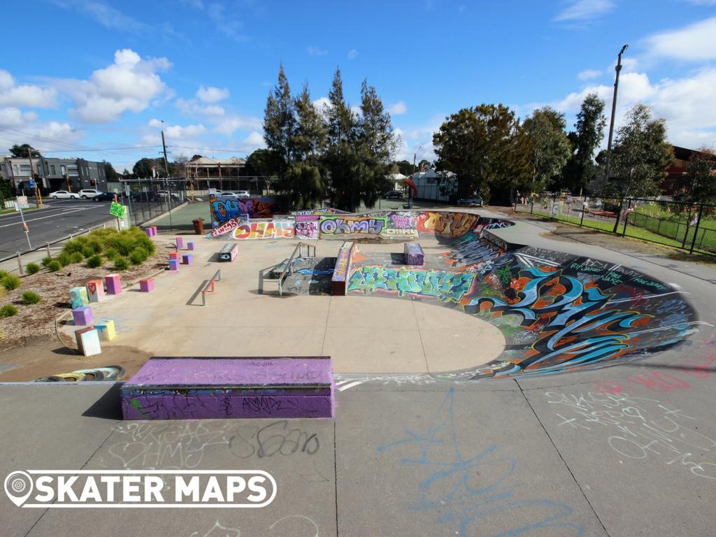 Yarraville Skatepark Melbourne Vic
