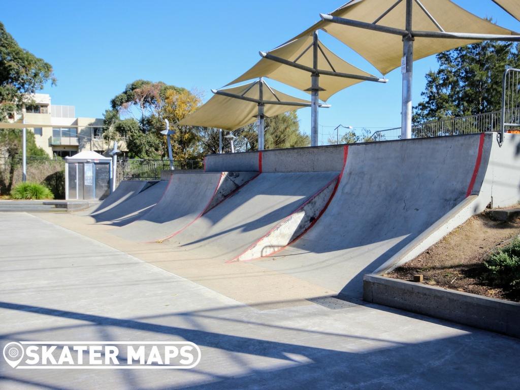 Junction BMX & Skate Park, Hawthorn Vic Australia Skateparks