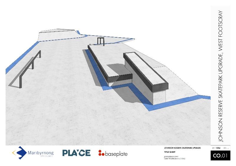 West Footscray Skatepark Design