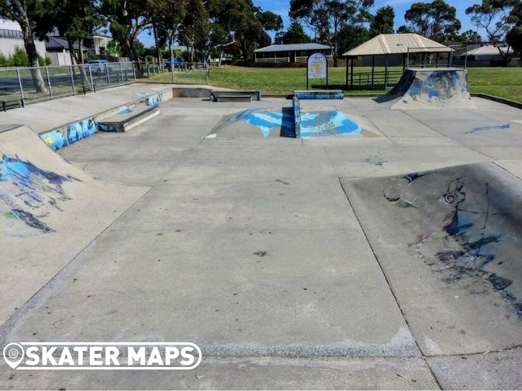 Half Bowl, Clifton Springs Skatepark Vic
