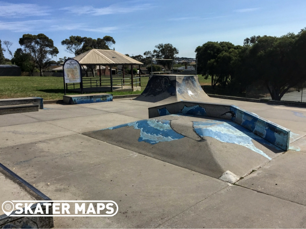 Skatepark Feature at Clifton Springs Skatepark Vic