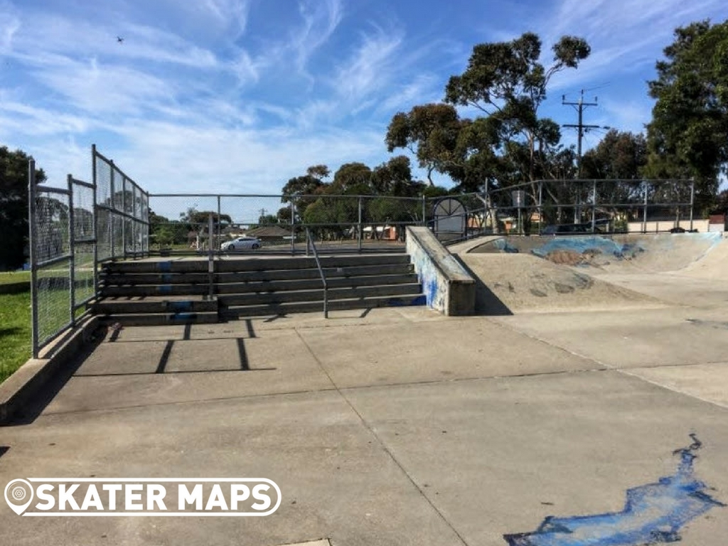 Stairs, Ramp & Down Box at Clifton Springs