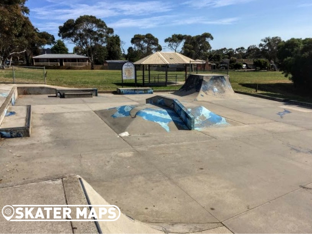 Ramp & Down Box at Clifton Springs Skatepark Vic