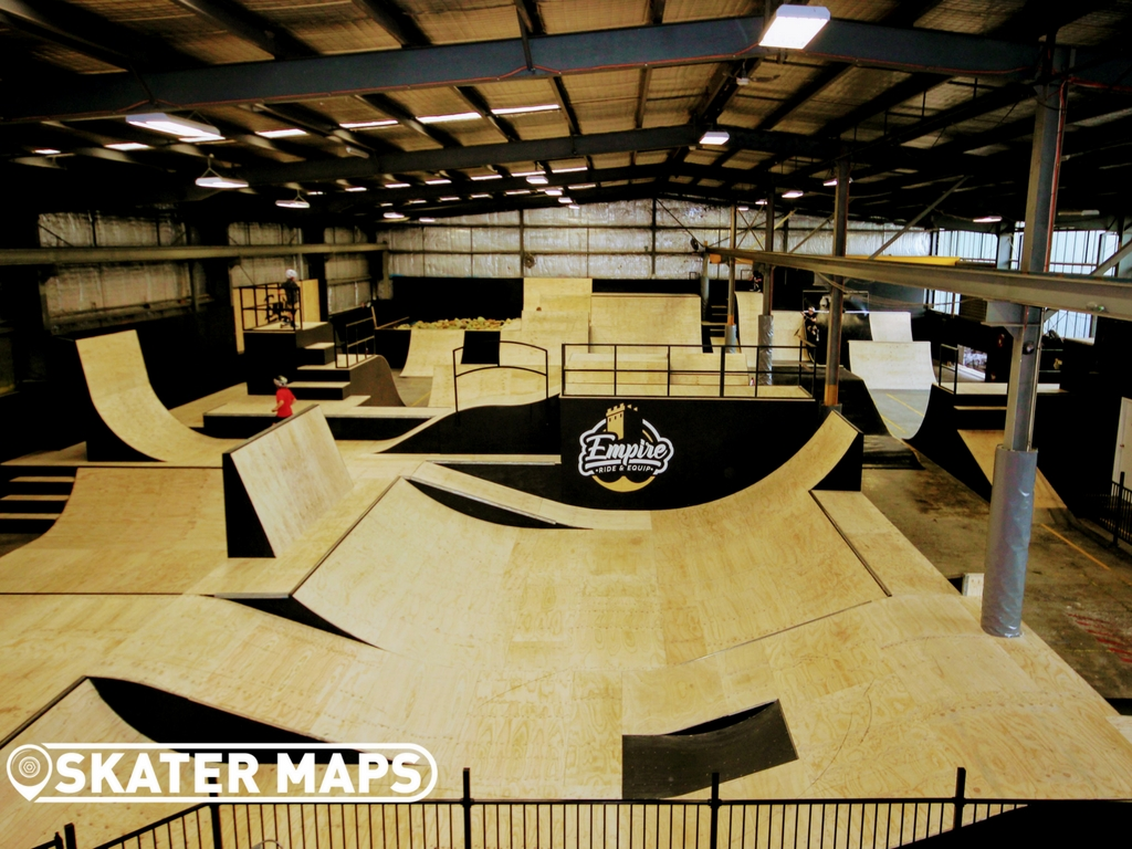 Empire Ride & Equip Indoor Skatepark Melbourne | The Old Bunker 1