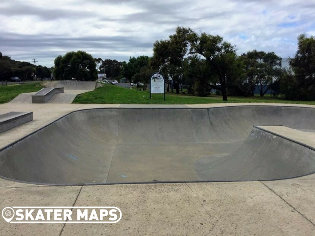 Ocean Grove Skatepark Vic Australia Skate Bowls