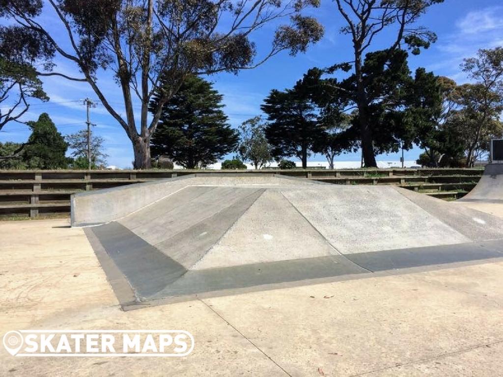 Feature at Portalington Skatepark Ballarine Peninsula Victoria