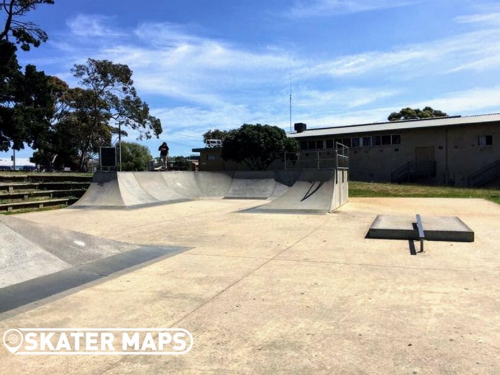 Concrete Skate Portalington Skatepark Ballarine Peninsula Victoria