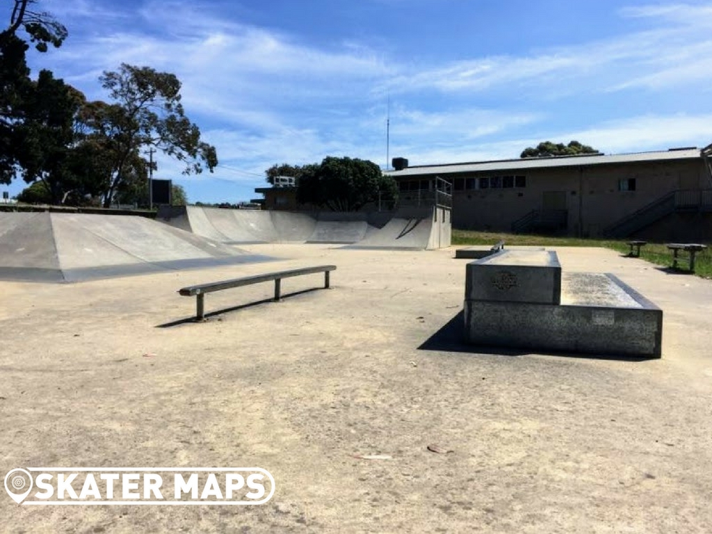 Street Section Portalington Skatepark Ballarine Peninsula Victoria