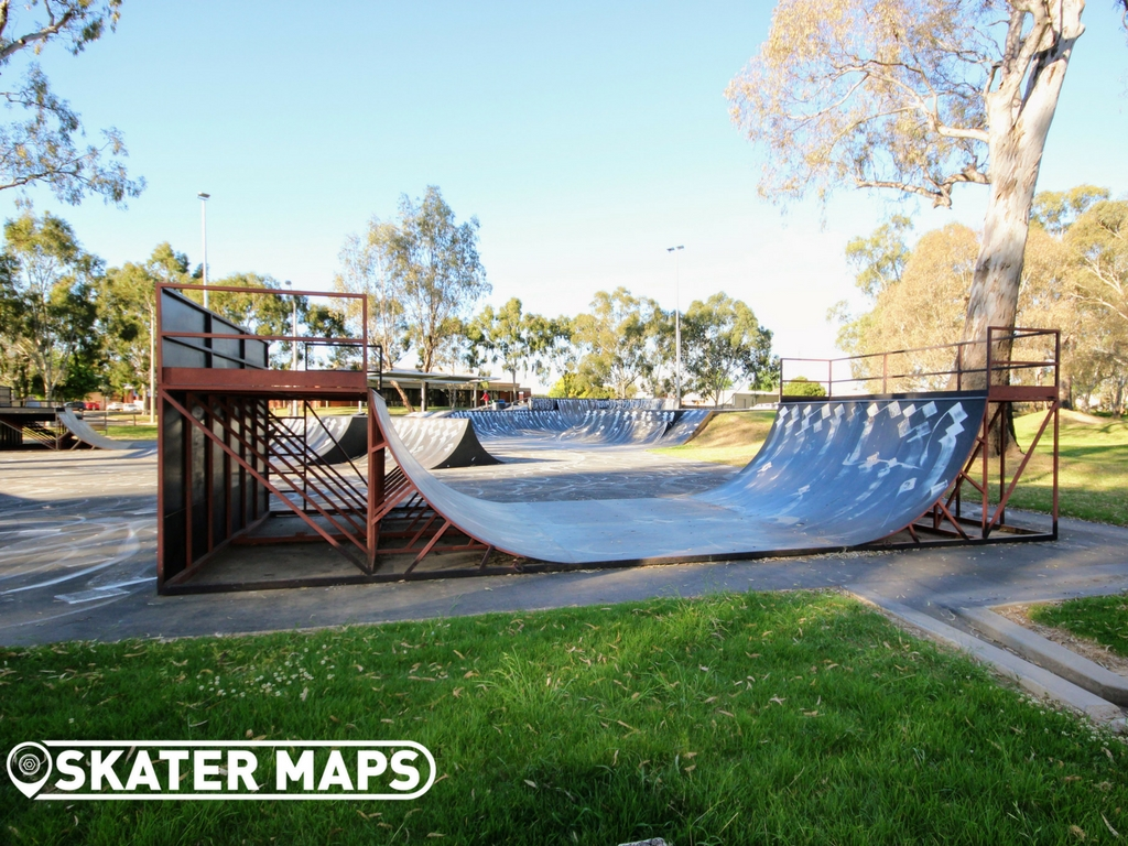 Benalla Skatepark, Benalla Victoria Aus