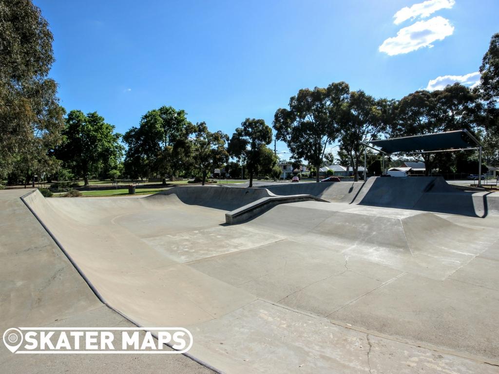 Wangaratta Skatepark, Wangaratta Victoria 1