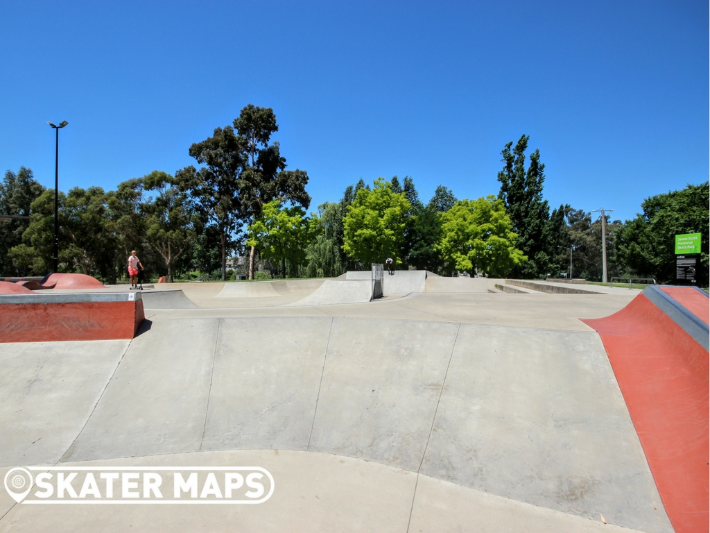 Wodonga Skatepark, Wodonga, Vic James Scott Memorial Skatepark 1