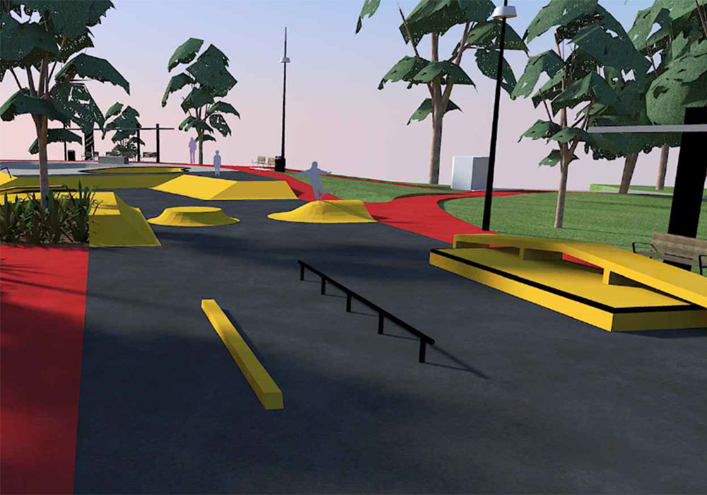 Box Hill Skatepark Design Playce Design