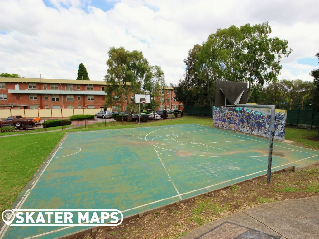 Ascot Vale Basketball Court Melbourne