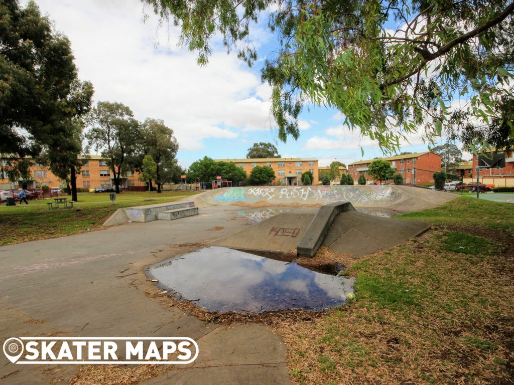 Ascot Vale Skatepark Melbourne