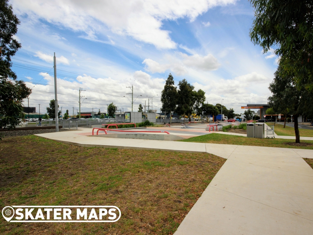 Highpoint Plaza, Melbourne Vic Aus Skateparks