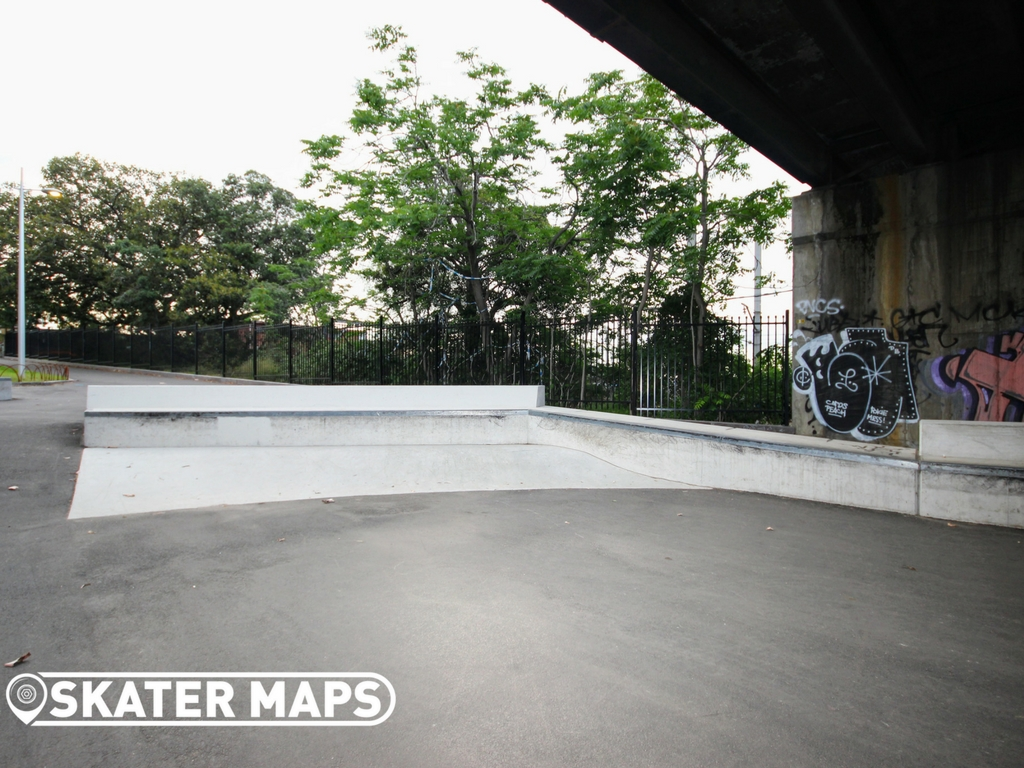 North Melbourne Skatepark, Northbank Skate Plaza