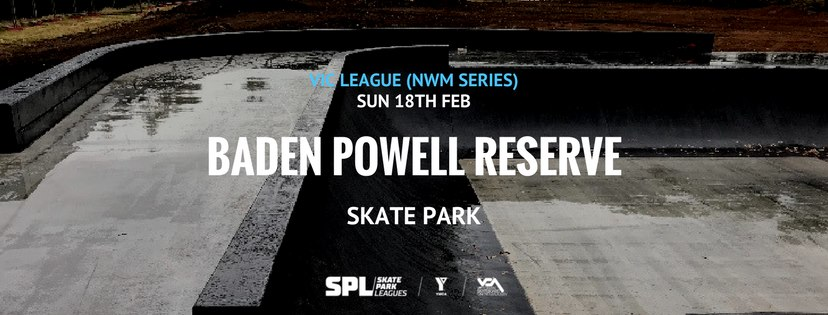 Vic skateboard League Baden Powell Reserve