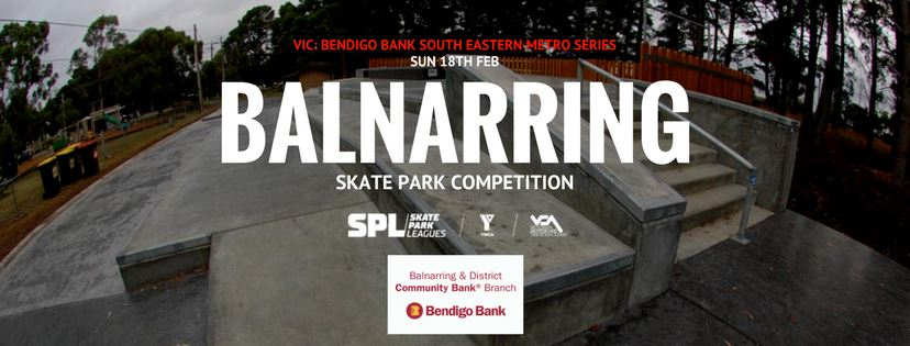 Vic Skatepark League Balnarring Skatepark
