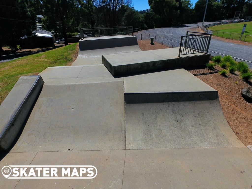 Monbulk Skatepark, Monbulk, Melbourne, Vic