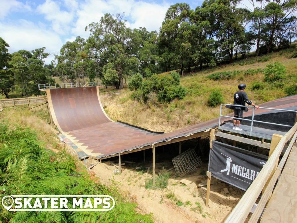 Mega Ranch Mega Ramp Australian Skatepark Directory Skater Maps Backyard mini mega ramp