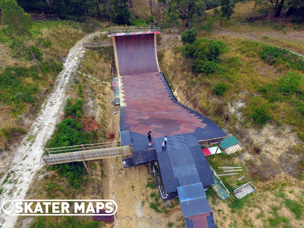 Mega Ranch Vert Ramp Vic Australia Super Skateboard Ramps