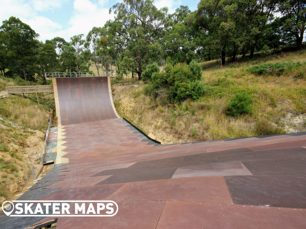 Mega Ranch Nyora Vic Australia Huge Vert Skateboard Ramps