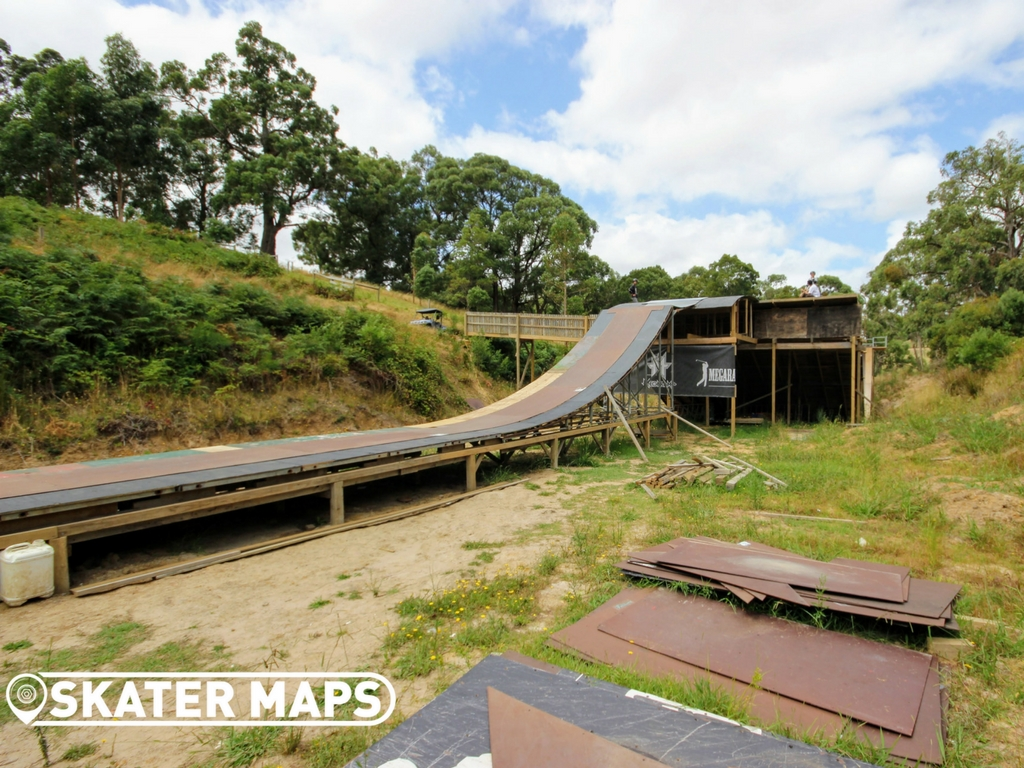 Mega Ranch Vert Ramp Vic Australia Huge Skateboard Ramps